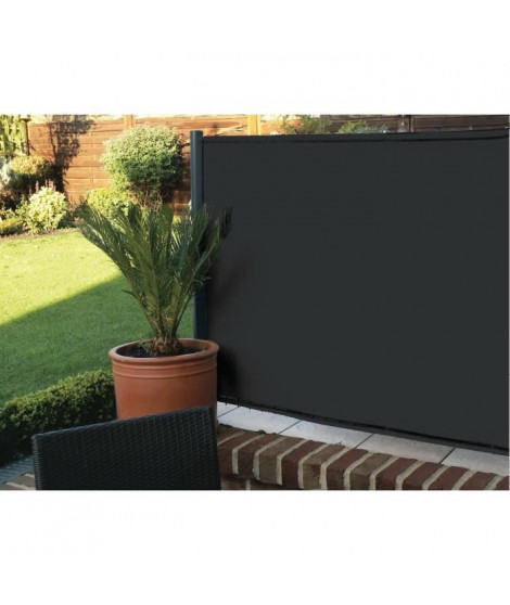 IDEAL GARDEN Brise vue Elegance - 200 g/m² - 1 x 3 m - Noir