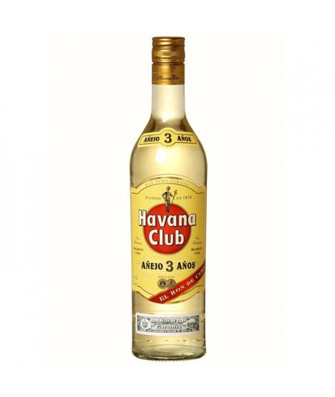 Havana Club 3 ans 70cl