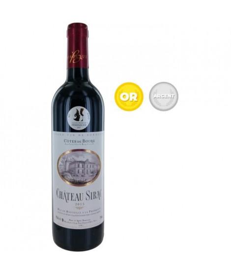 Château Sirac 2015 Côtes de Bourg - Vin rouge de Bordeaux