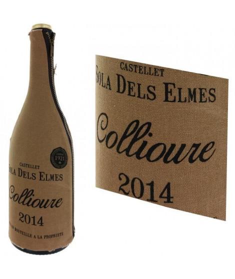 Castellet Sola Dels Elmes 2014 Collioure - Vin rouge du Languedoc Roussillon