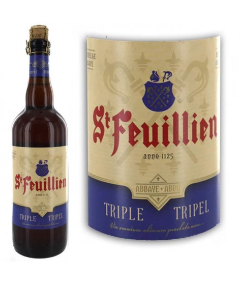 Saint-Feuillien triple 75cl 8.5° Biere Blonde