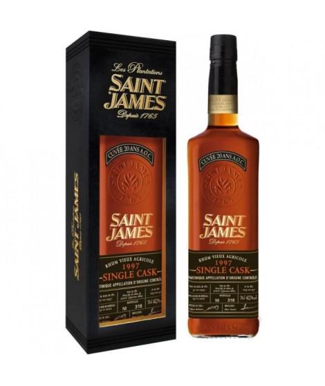 Saint James - Single Cask 1997 - Hors d'Age - Rhum de Martinique - 42,7% - 70 cl - Etui