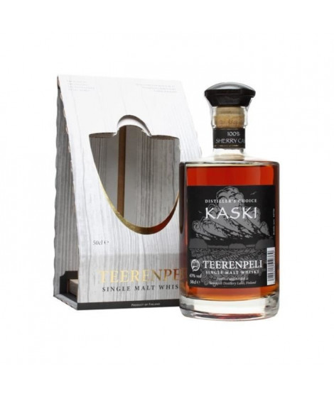 Teerenpeli Kaski - Single Malt Whisky - Finlande - 43%vol - 50cl