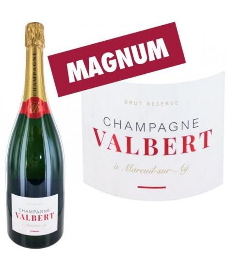 Champagne Valbert Brut - Magnum - Brut Réserve x1