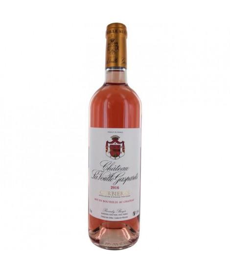 Château La Voulte Gasparets 2016 Corbieres - Vin rosé du Languedoc Roussillon