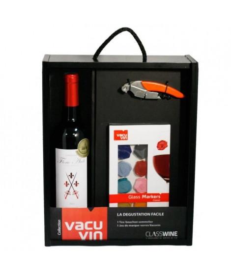 Coffret  Vin Vacuvin La dégustation facile