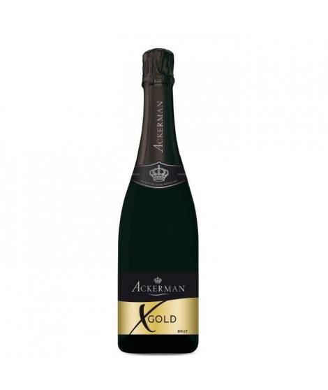 Ackerman Vin Effervescent X Gold Blanc Brut 75cl