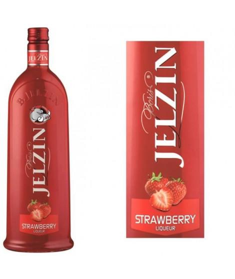 JELZIN Liqueur de Vodka Fraise 16,6°