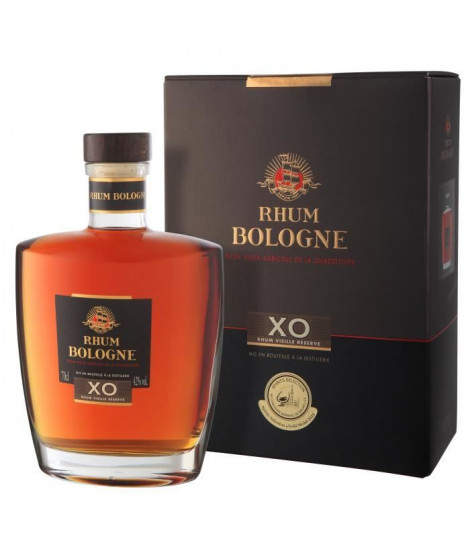 Bologne - Vieux XO - Rhum - 42.0% Vol. - 70 cl