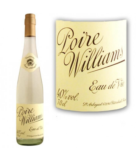 Eau de vie Poire Williams St Arbogast 40° 70cl