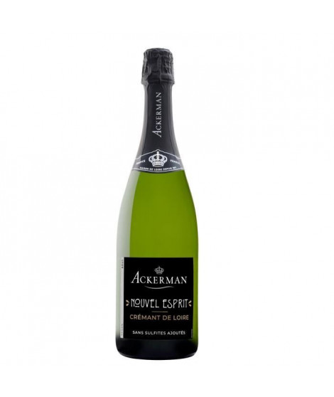Ackerman Crémant de Loire Nouvel Esprit Sans sulfites Blanc Brut 75cl