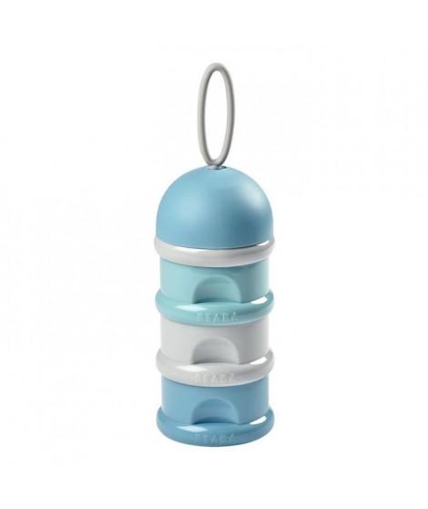 BEABA Boîte doseuse de lait empilable (airy green+windy blue+light mist)