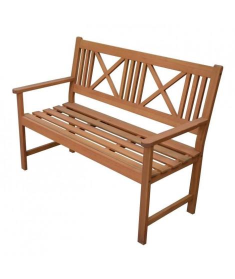FINLANDEK - Banc de jardin 120cm en bois exotique - 120x60x90cm