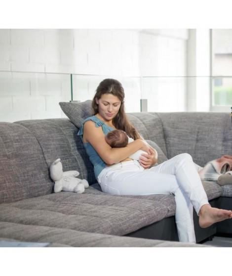 NUBY Compresses d'allaitement pour la journée - 28 pieces blancs et 2 pieces noirs
