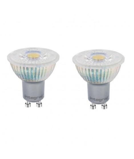 INTEGRAL LED Lot de 2 ampoules spot GU10 4,4 W équivalent a 50 W 4000 K 400 lm