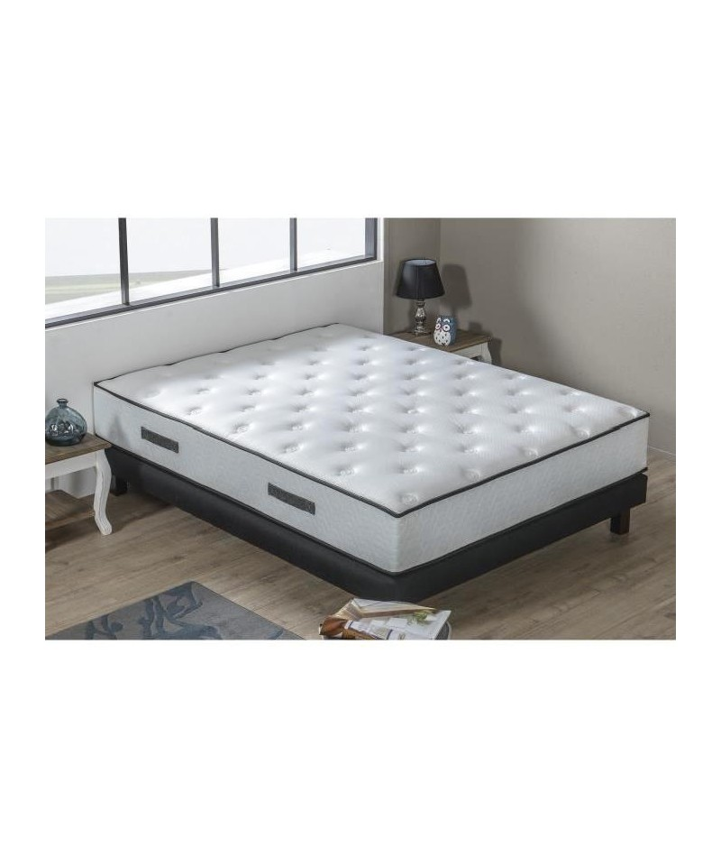 hotel prestige ensemble matelas sommier 160x200 cm. Black Bedroom Furniture Sets. Home Design Ideas