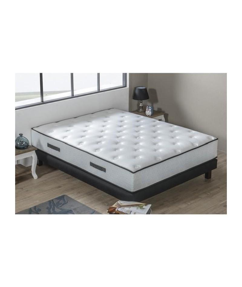 matelas et sommier 160x200 cool lit matelas premium sommier x mmoire de forme h with matelas et. Black Bedroom Furniture Sets. Home Design Ideas