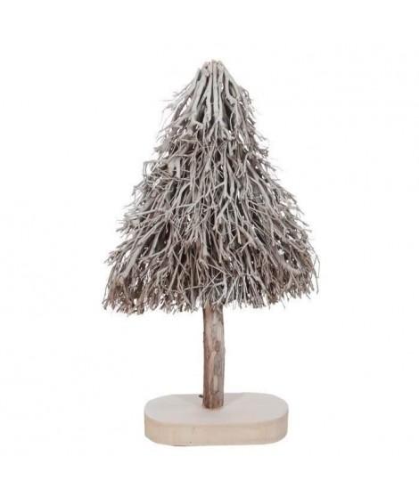 JOLIPA Sapin de noël 45x20x80 cm blanc