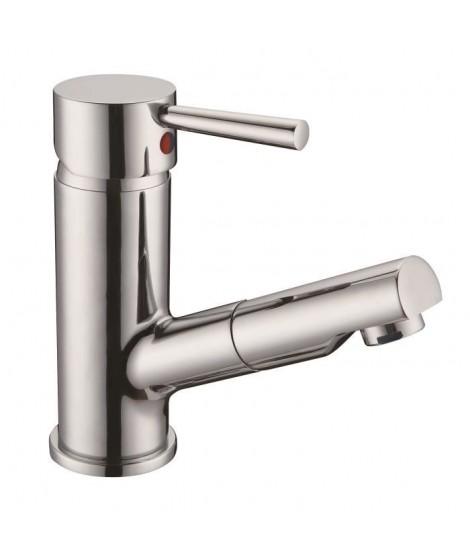 SCHÜTTE Cornwall Mitigeur monocommande lavabo avec mousseur extractible
