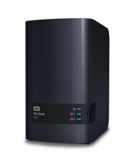 WD NAS My Cloud EX2 Ultra 4To 3,5""