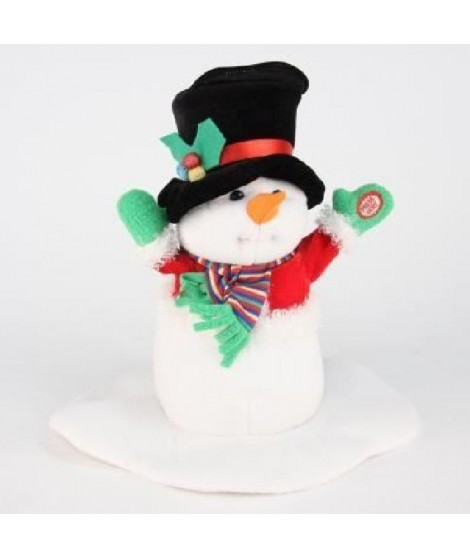 Bonhomme de neige led musical