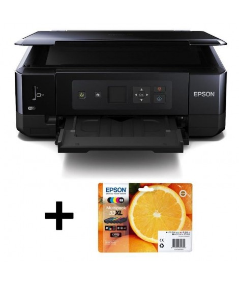 Pack Epson Imprimante Expression Premium XP-530 + Epson Cartouche 33XL Noir (Série Orange)