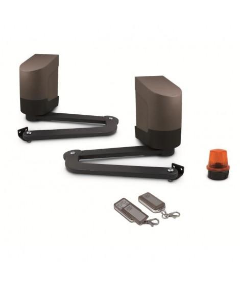 AVIDSEN Kit de motorisation a bras articulés pour portail a 2 battants 2,5mx200kg max 24V Orane 400