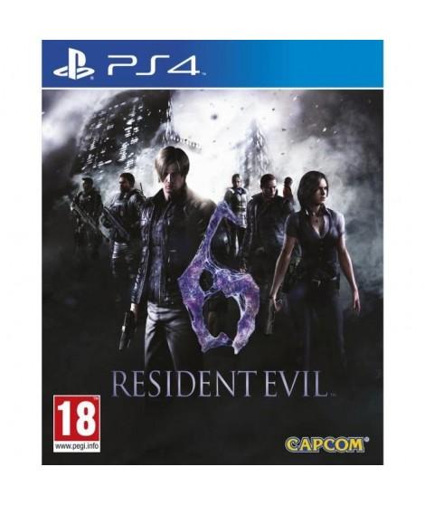 Resident Evil 6 Jeu PS4