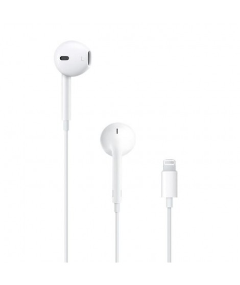 APPLE EarPods avec connecteur Lightning - MMTN2ZM/A