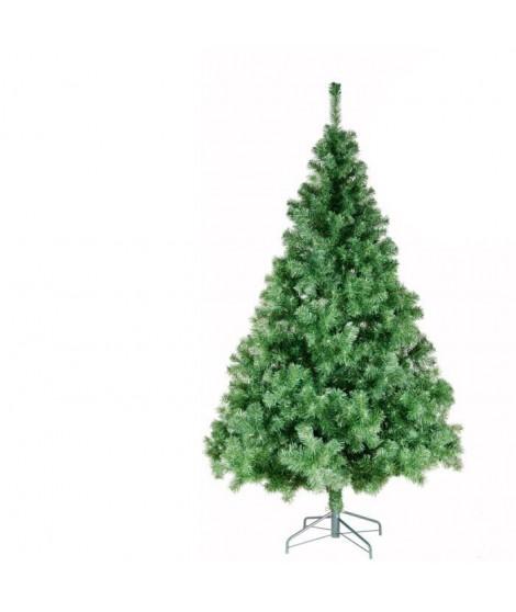 Sapin de noël Norway 780 branches hauteur 180 cm vert foncé