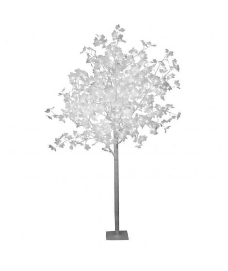 Arbre de noël Erable 120 LED hauteur 150 cm blanc
