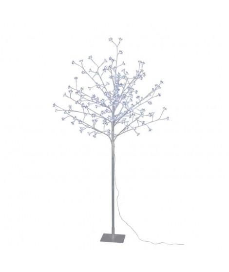 Arbre de Noël Cerisier 180 LED hauteur 150 cm blanc