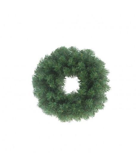 CODICO Couronne de noël 72 branches diametre 45 cm sapin verte