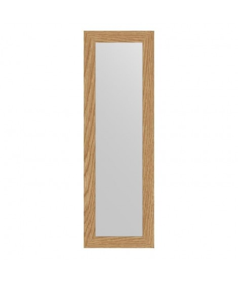 MIRRA Miroir rectangulaire 30x120 cm Chene