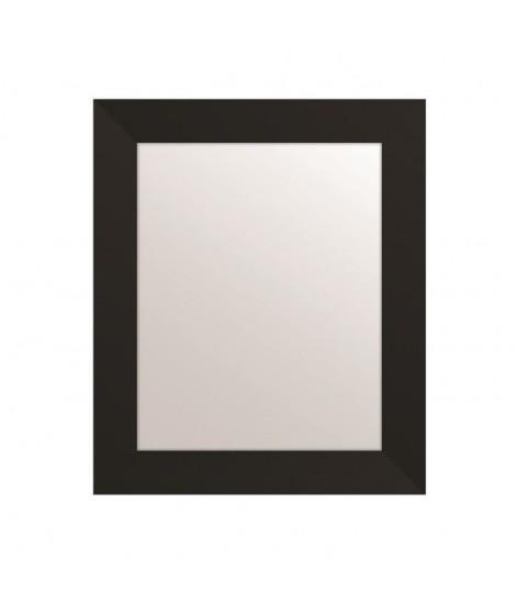 MIRRA Miroir rectangulaire 40x50 cm Noir