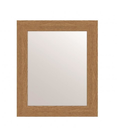 MIRRA Miroir rectangulaire 40x50 cm Chene