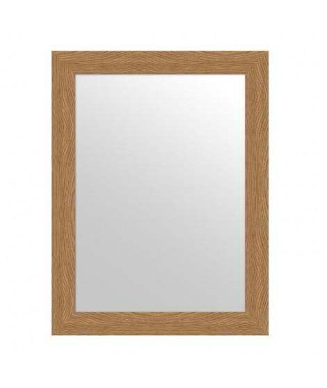 MIRRA Miroir rectangulaire 50x70 cm Chene