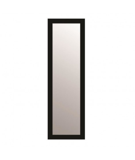 TEXA Miroir rectangulaire 30x120 cm Noir