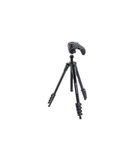 MANFROTTO COMPACT ACTION Kit Trépied Aluminium + Rotule joystick Noir