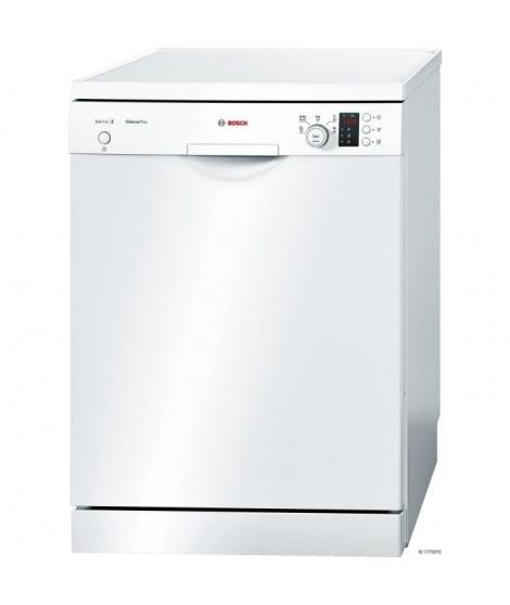 BOSCH SMS25AW04E - Lave-vaisselle pose libre 12 couverts A+ Blanc