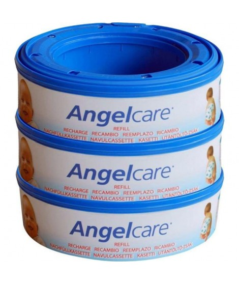 ANGEL CARE 3 Recharges Rondes Compatibles : Classic, Mini, Comfort, Deluxe