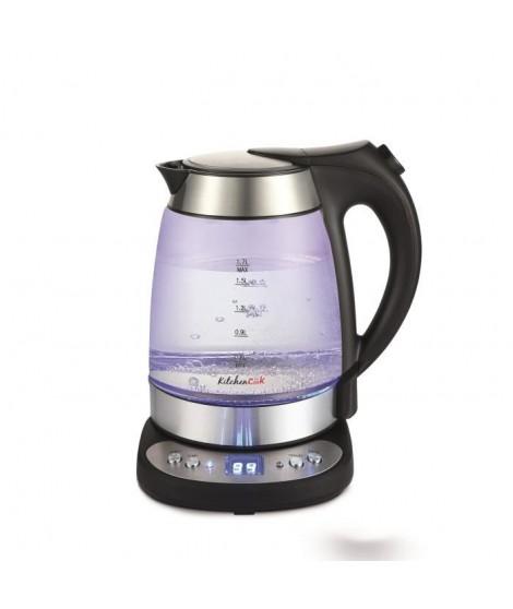 Bouilloire électrique Kitchencook 2200W - Noir - Noir