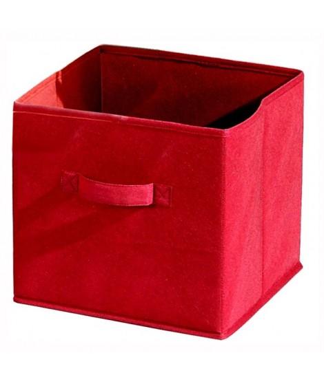 COMPO CUBE 16 Tiroir tissu rouge