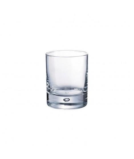 DUROBOR Boîte de 6 gobelets a whisky forme basse Satellite 29 cl transparent