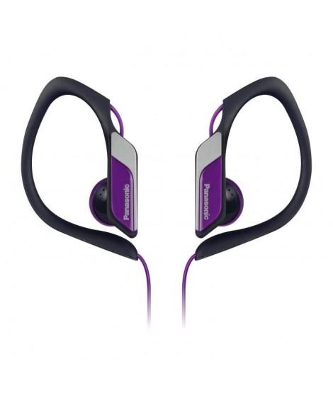PANASONIC HS34 Ecouteurs Semi-Intra Sport Clip étanches Violets