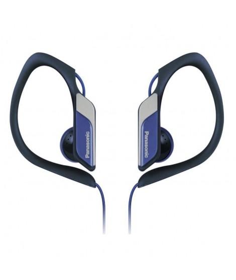 PANASONIC HS34 Ecouteurs Semi-Intra Sport Clip étanches Bleus