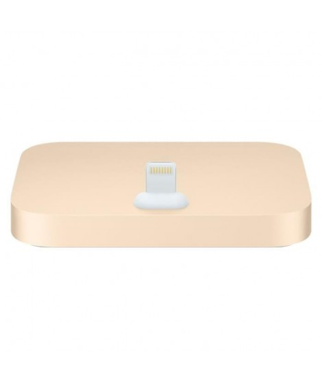 Apple Station d'accueil Lightning pour iPhone - Or