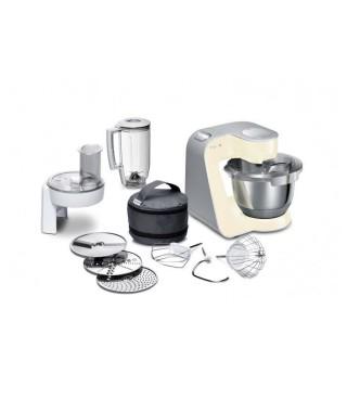 BOSCH MUM58920 Kitchen Machine MUM 5 ? Vanille et argent
