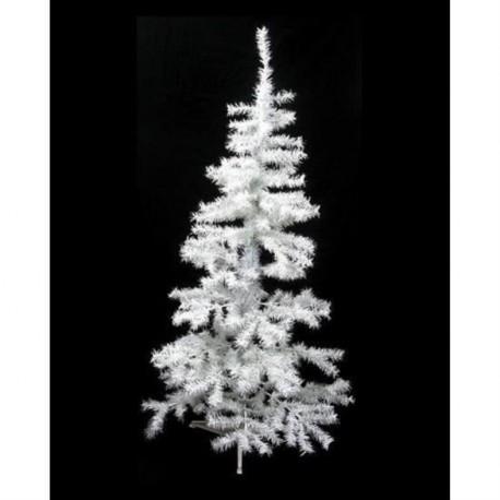 Sapin de noël 396 branches h180cm blanc