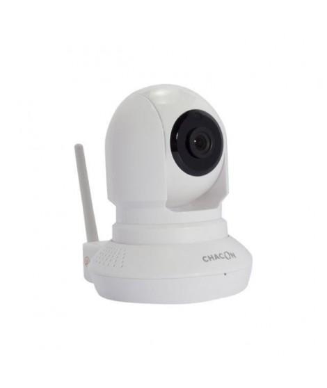 CHACON Caméra de surveillance connectée IP Wi-Fi rotative a usage intérieur